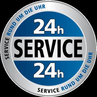 24-Stunden-Service-Button